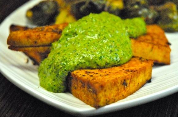 ... shitake cilantro pesto cilantro pesto cilantro and pepita pesto