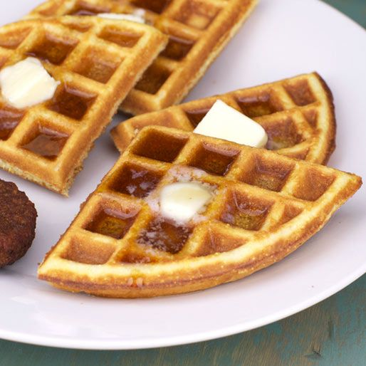Multi-Grain Waffles Recipe | MrBreakfast.com