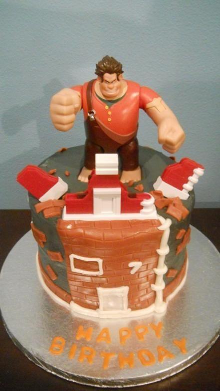 Wreck It Ralph Cake  7 JPG cakepins.com
