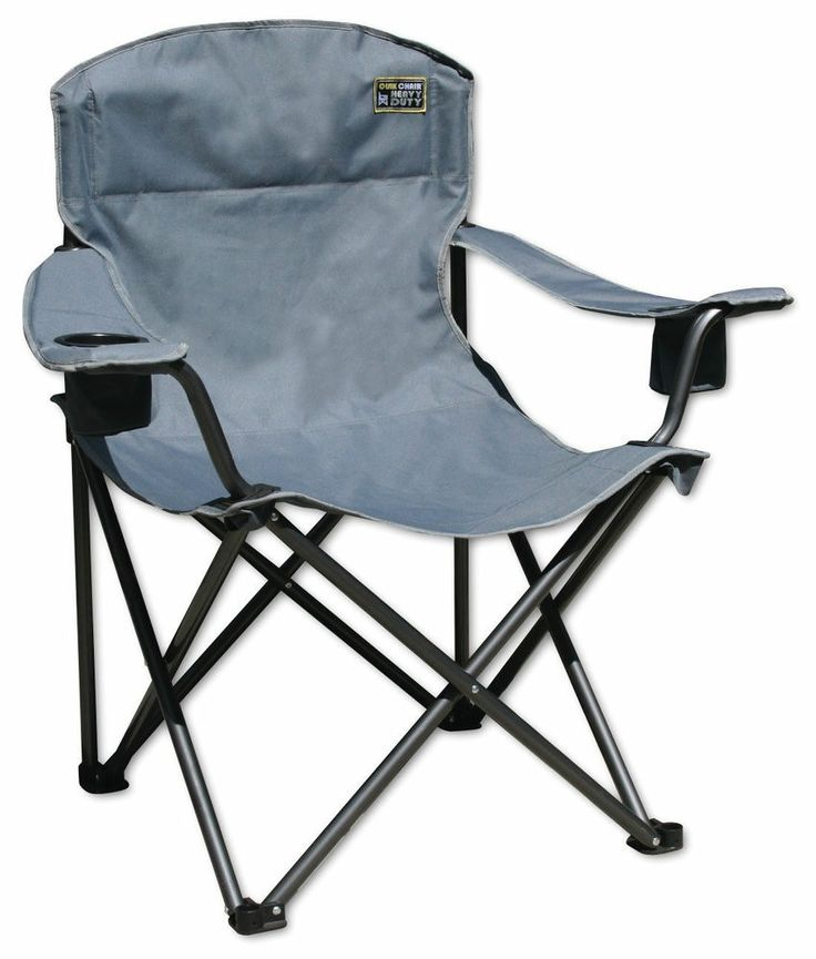 Quik Shade Heavy Duty 1 4 ton 500 lb Folding Portable Camping Chair H…