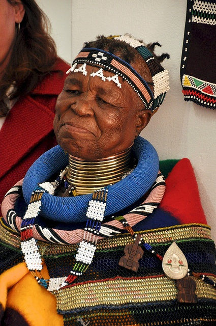 ATASA Ndebele Art Opening 360 by Lauren Barkume, via Flickr