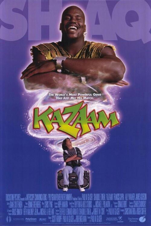 Kazaam Shaq as a genie? | My Childhood Entertainment ...