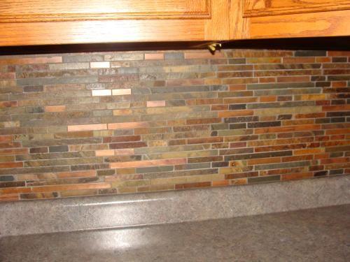 Satin Copper Slate : Satin copper in mm slate