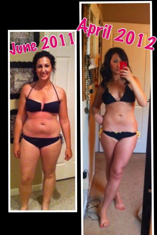 Another great Tone It Up Nutrition Plan transformation!