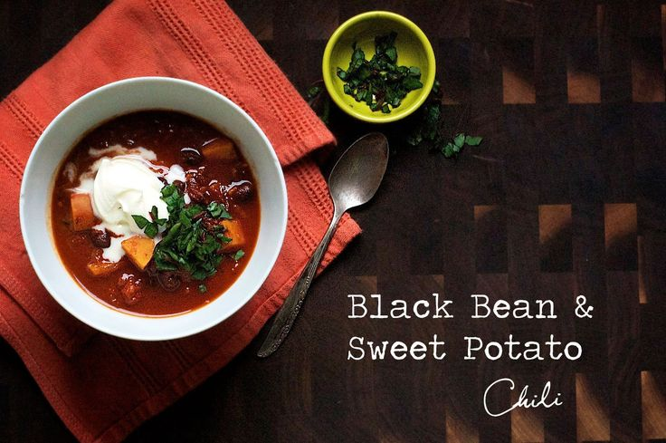 Black Bean Beer and Sweet Potato Chili | Soups On! | Pinterest