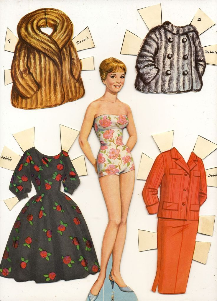 Images Of Old Fashioned Paperdolls