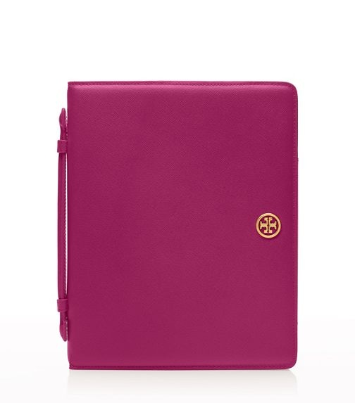 ipad case with handle   tory burch