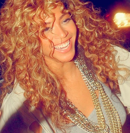 curly hairBeyonce Blonde Curly Hair 2013