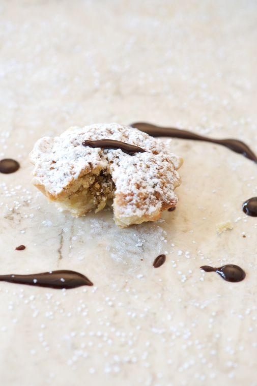 Hazelnut Tarts with Chocolate and Orange http://freshnewengland.com ...