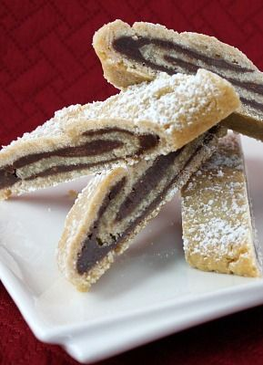 caramel slice bill granger s chocolate coconut slice meringue swirls ...