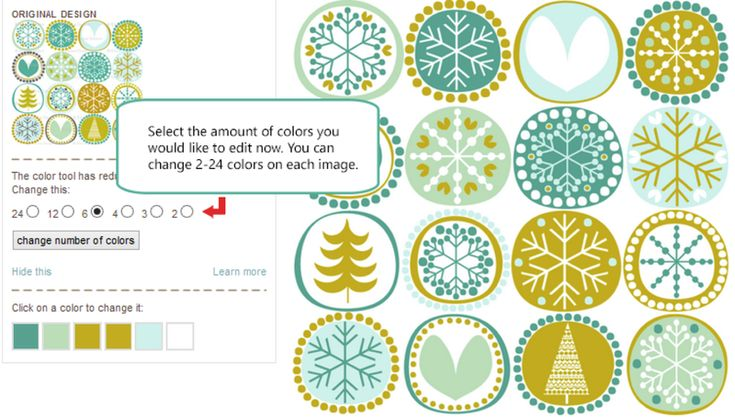 Select color number | Christmas cheer | Pinterest
