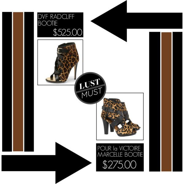 """Lust / Must - Leopard Print Booties"" by latoyacl"