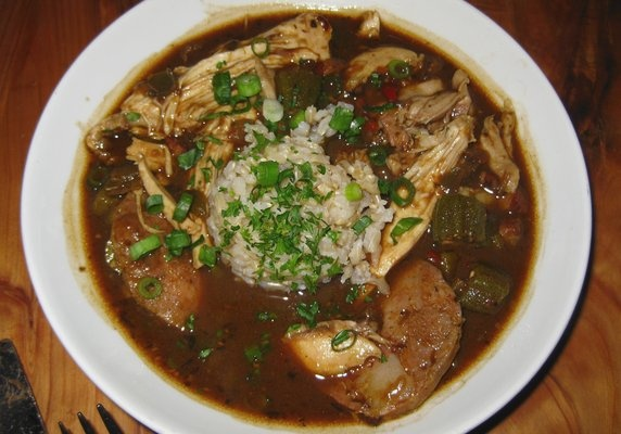 ... shrimp chicken and andouille gumbo chicken shrimp and andouille gumbo