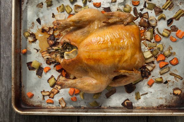 Basic Whole Roasted Chicken | Recipe