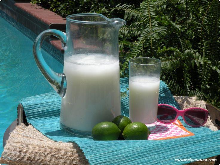 Brazilian Lemonade (with Limes And Condensed Milk) Recipe — Dishmaps