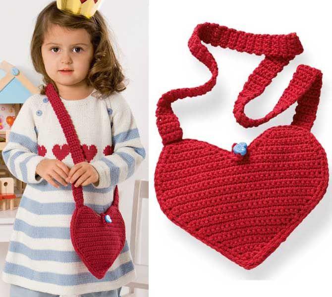 Вязание спицами сумочки для девочки 78