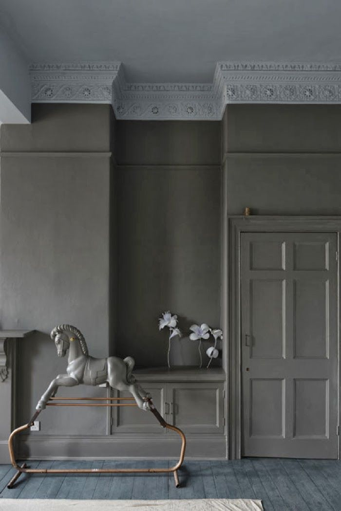 farrow ball gray grey pinterest. Black Bedroom Furniture Sets. Home Design Ideas