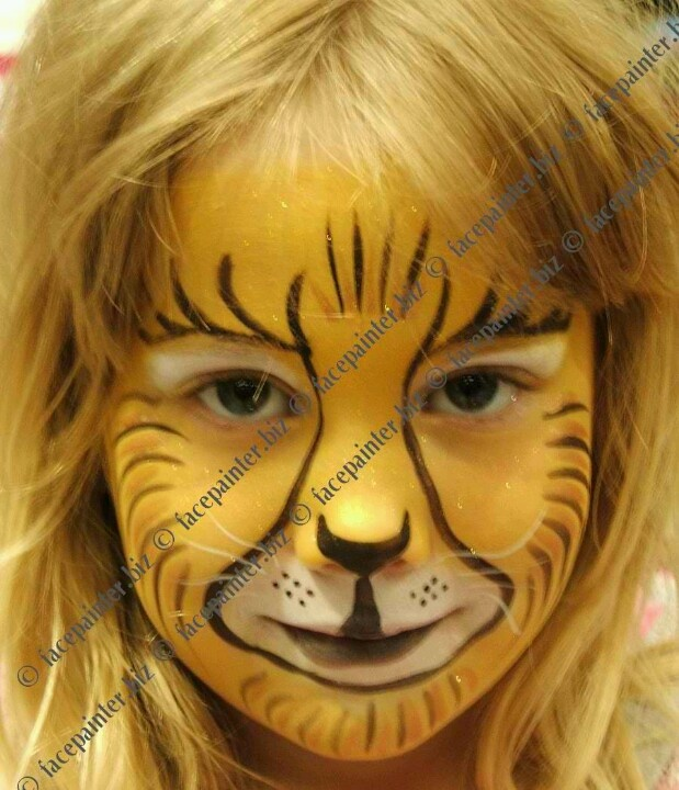 Lion Face Paint Done Pinterest