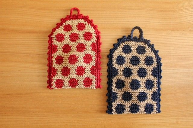 Crochet Side Bags : crochet dots pouch (back side) Crochet bags Pinterest