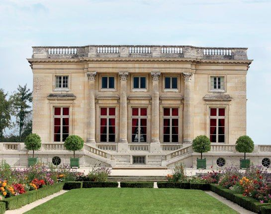 Petit Trianon - Marie's palace given to her by Louis XV.