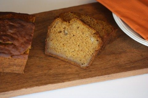 Gluten Free Pumpkin Banana Bread - Lynn's Kitchen Adventures #gf # ...