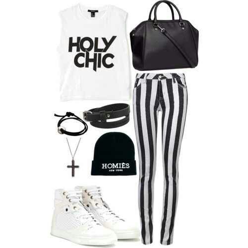Holy Chic! Polyvore