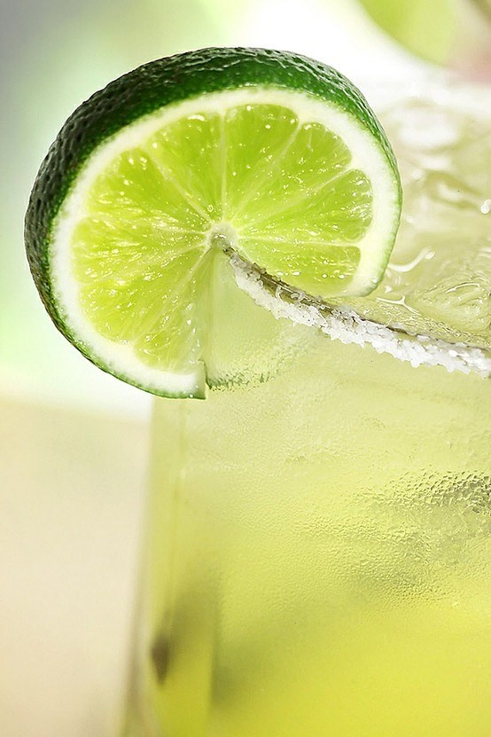 Margaritas. salty citrus. cold and delicious.