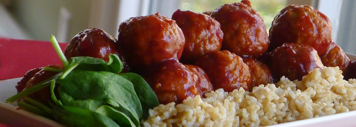 Ultimate Party Meatballs Recipe | If I ever become a cook | Pinterest