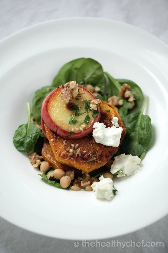 walnuts and apple balsamic the healthy chef nix the apple balsamic ...