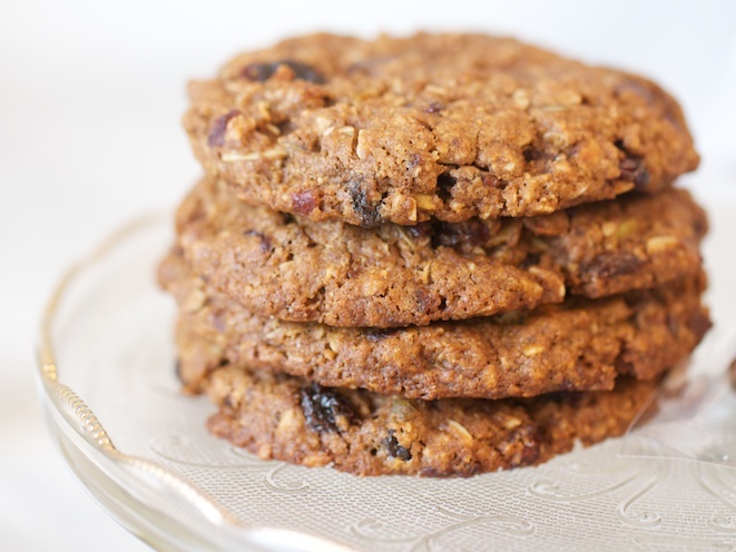 Oatmeal Cranberry Raisin Cookie | Clean eating | Pinterest