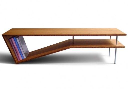 Slim Slant Coffee Table Furniture Pinterest