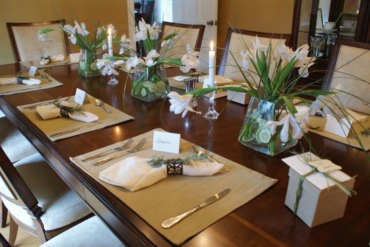 Dinner Party Centerpieces Party Ideas Pinterest