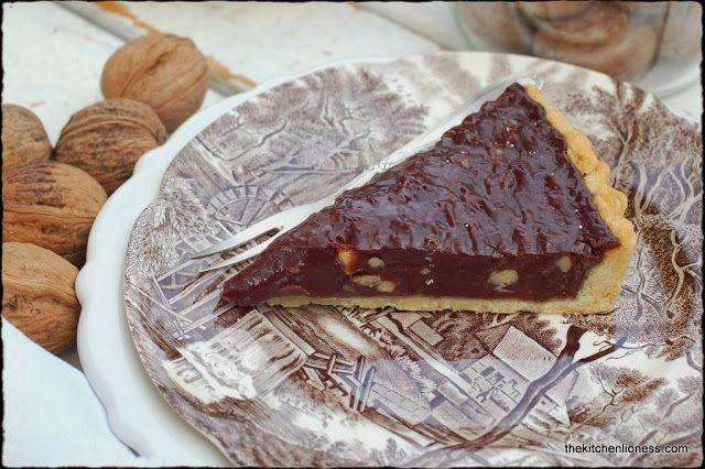 Nigel Slater's Walnut, Chocolate, and Honey Tart