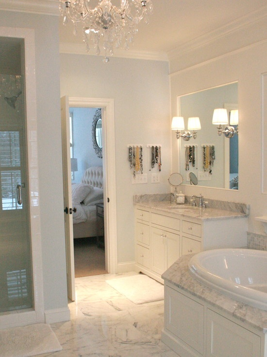 Pin by gwynne borsello on master bath ideas pinterest for Carrera bathroom ideas