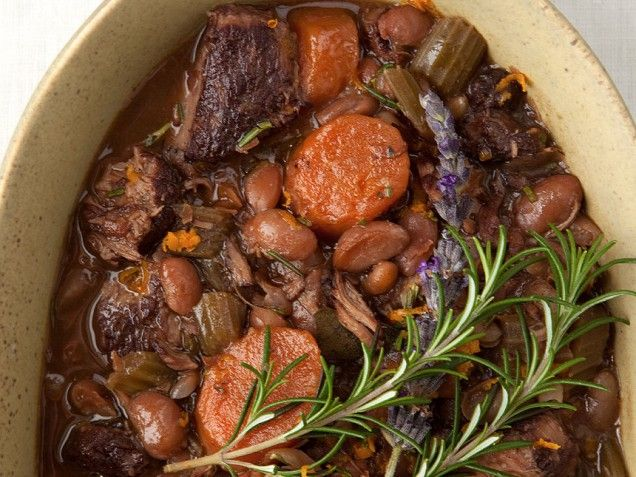 White Bean And Lamb Cassoulet With Rosemary And Orange ...