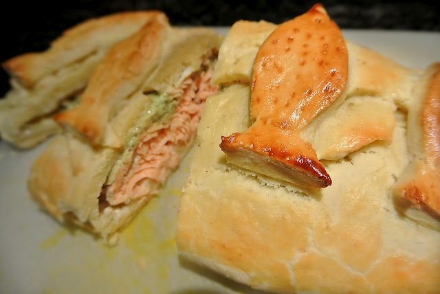 salmon en croute recipe | en Croute recipes | Pinterest