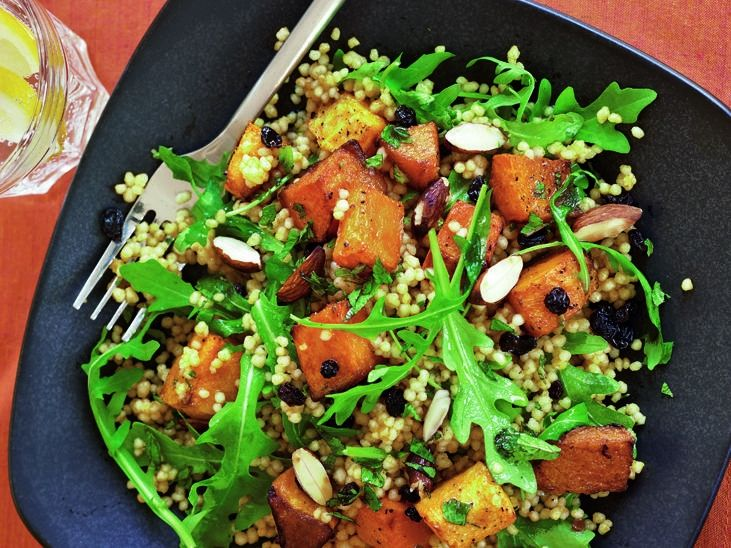 Couscous Salad With Butternut Squash And Cranberries Recipes ...