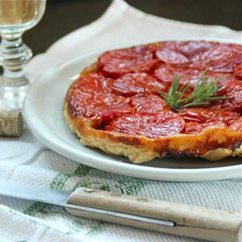 Tomato Tarte Tatin | Passions to Pastry | Pinterest