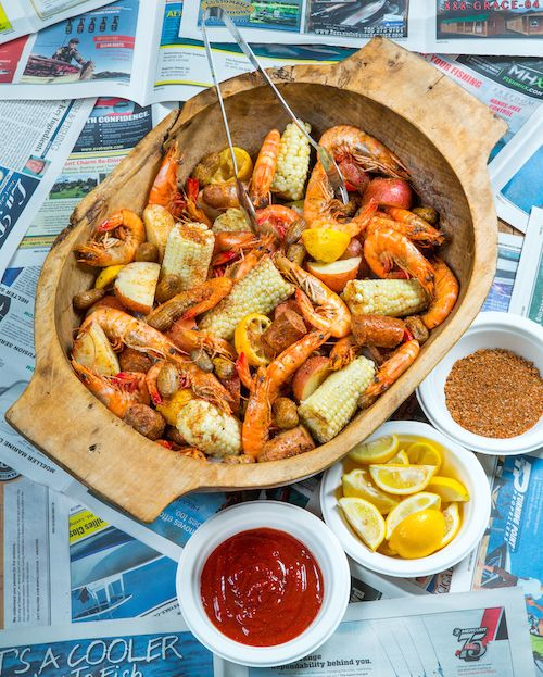 Southern soul low country boil by southern soul barbecue st simons