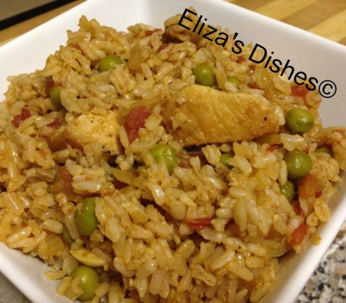 Chicken and Brown Rice | FOODS AND DELICACIES | Pinterest