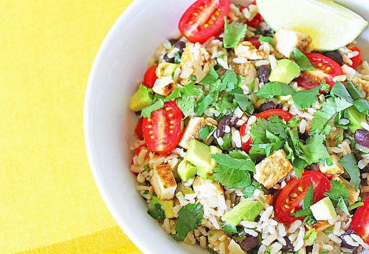 Healthy Mexican Rice Bowl | Mexicali | Pinterest