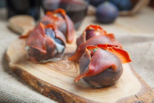 Prosciutto Wrapped Gorgonzola Stuffed Figs | Recipe