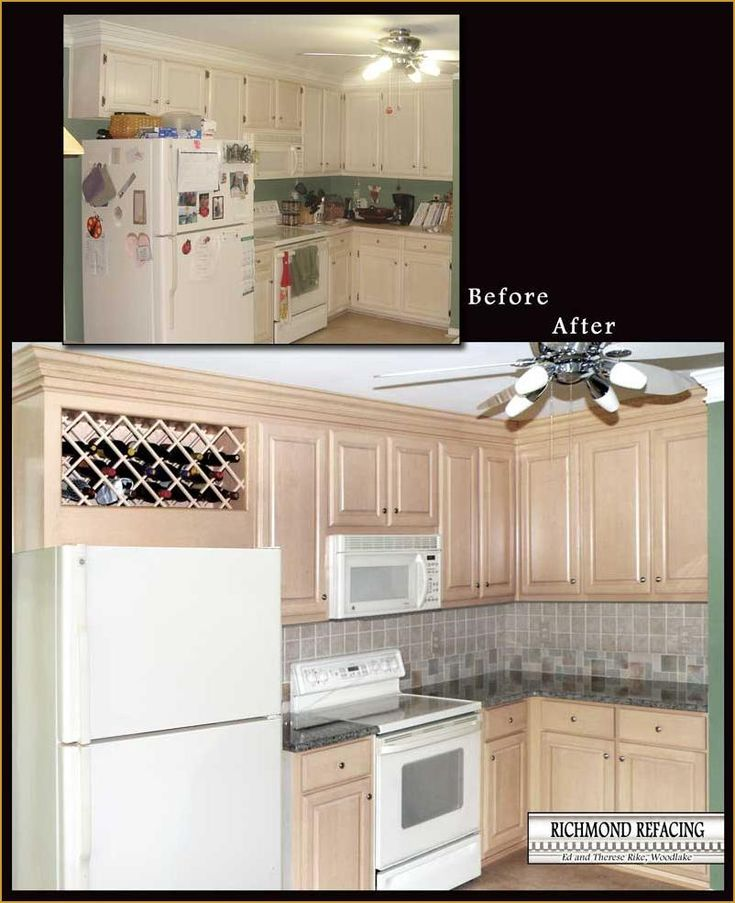Kitchen Cabinet Refacing Images 5 Richmond Refacing