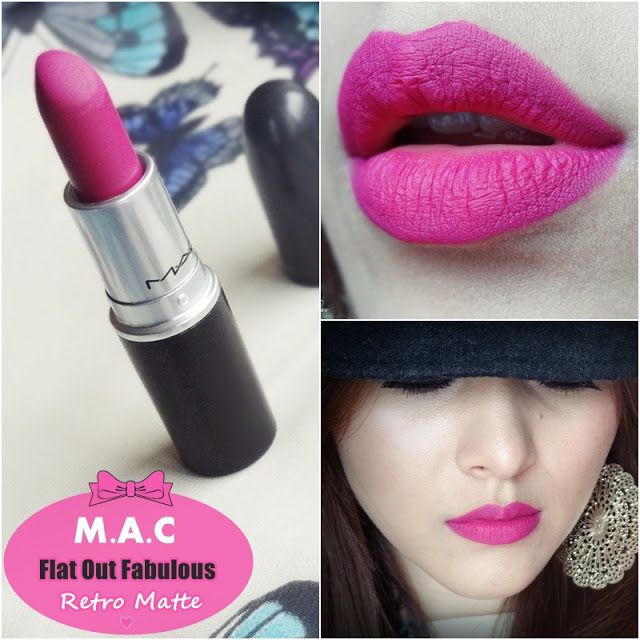 MAC lipstick - Flat out fabulous (Retro matte)