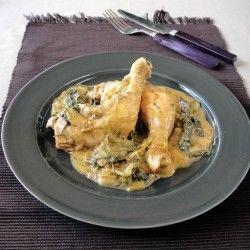 chicken fricassee | Yummygood | Pinterest