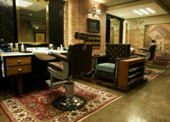 Barber Lounge : Barber lounge Barber style Pinterest