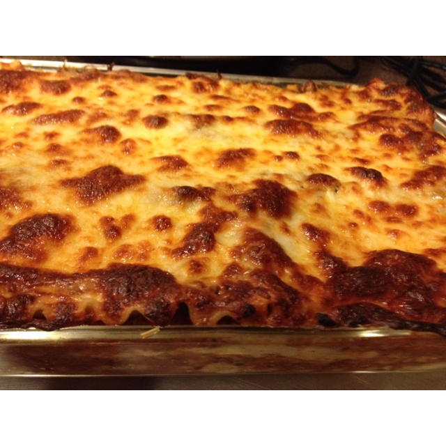 Four cheese lasagna | food I want | Pinterest