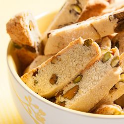 Lemon Pistachio Biscotti. Tried this today and it came out perfect for ...