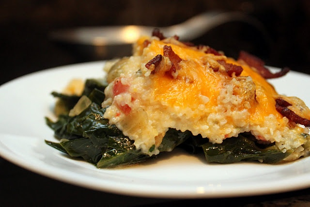 Grits & Greens Casserole | Vegetable/Sides Recipes | Pinterest