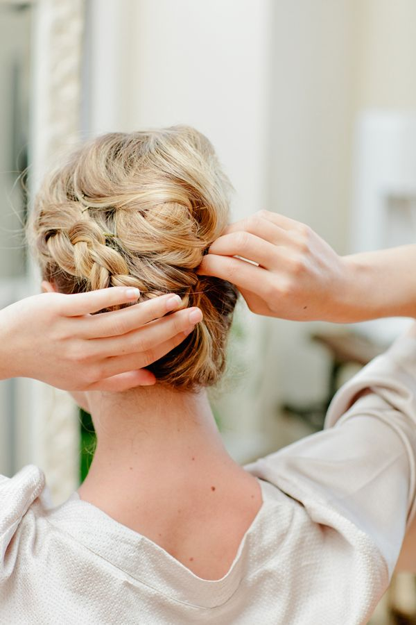 Easy Hairstyles For Wedding Reception : Diy bridesmaid hairstyles so quick and easy you won t believe ca